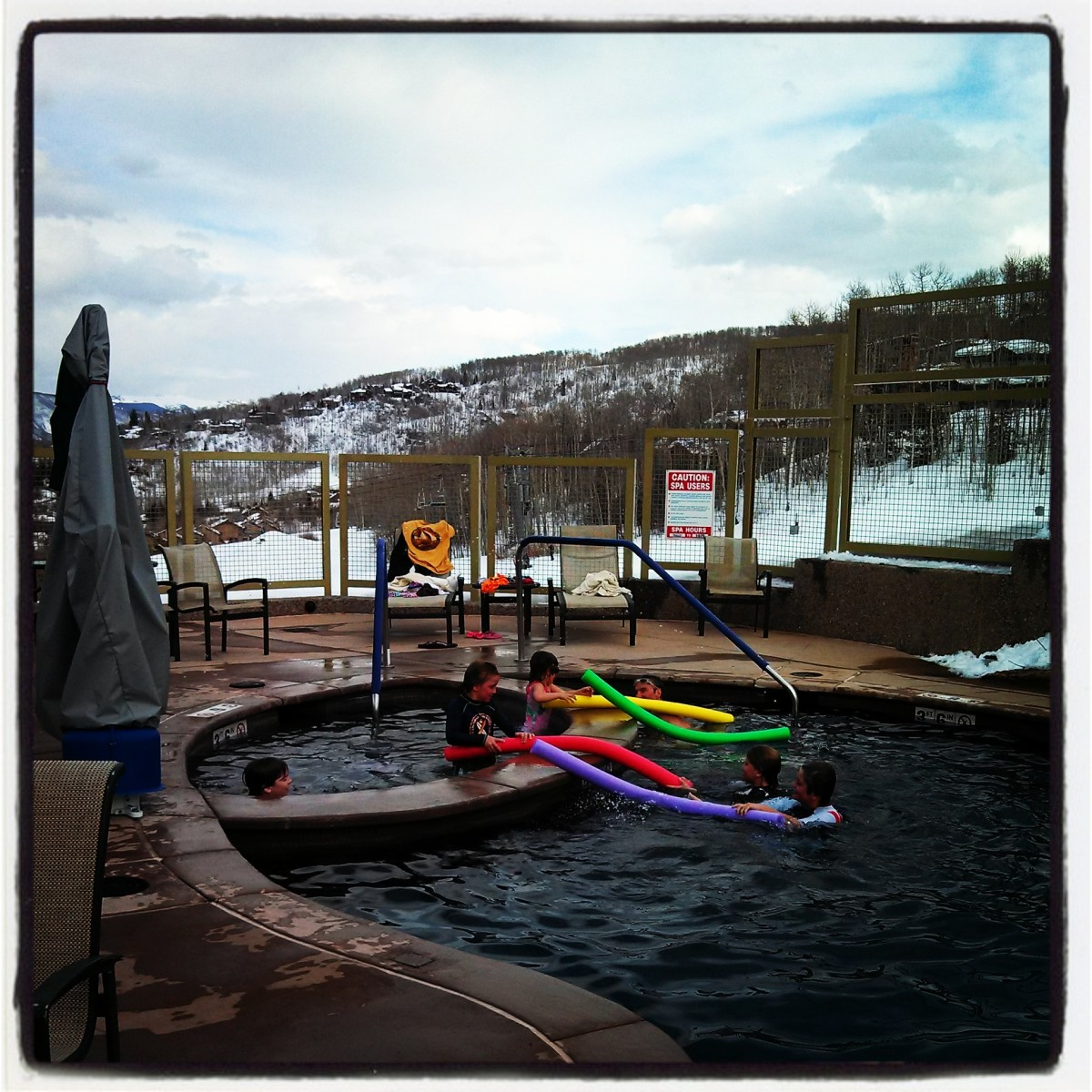 Timberline pool