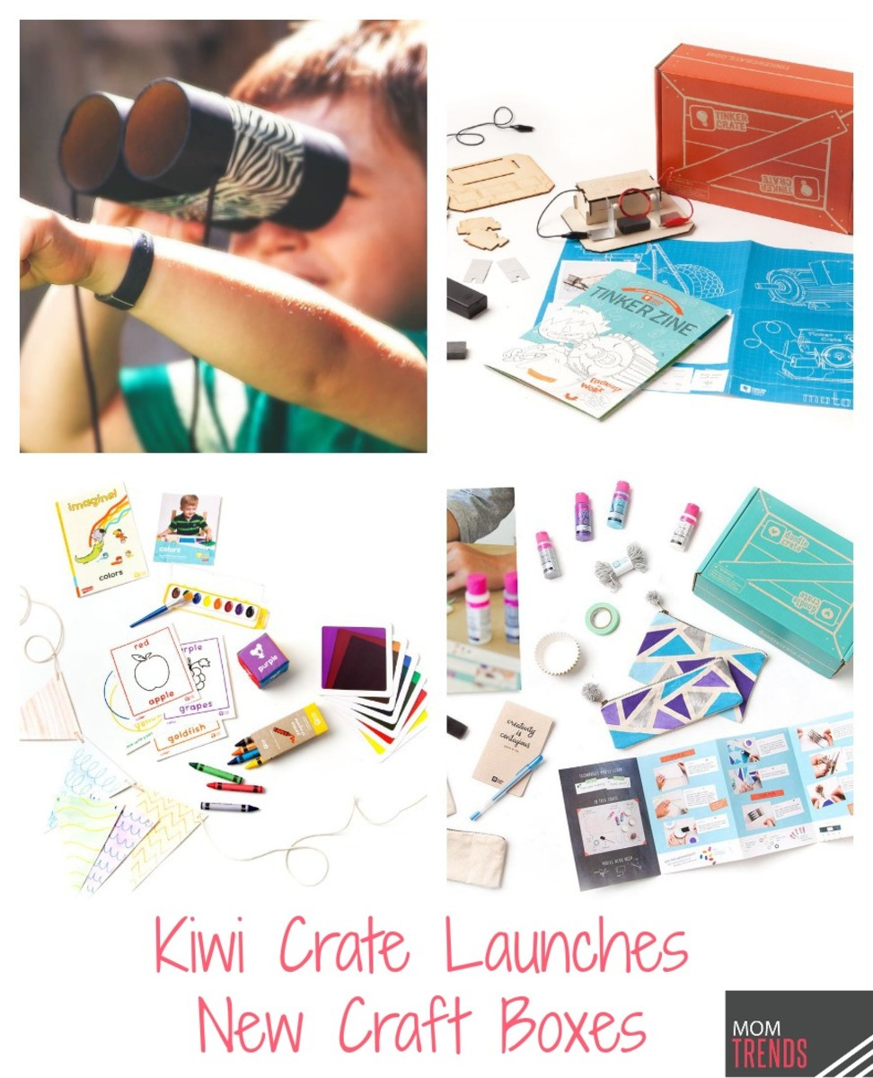 Kiwi Crate Launches Three New Craft Boxes