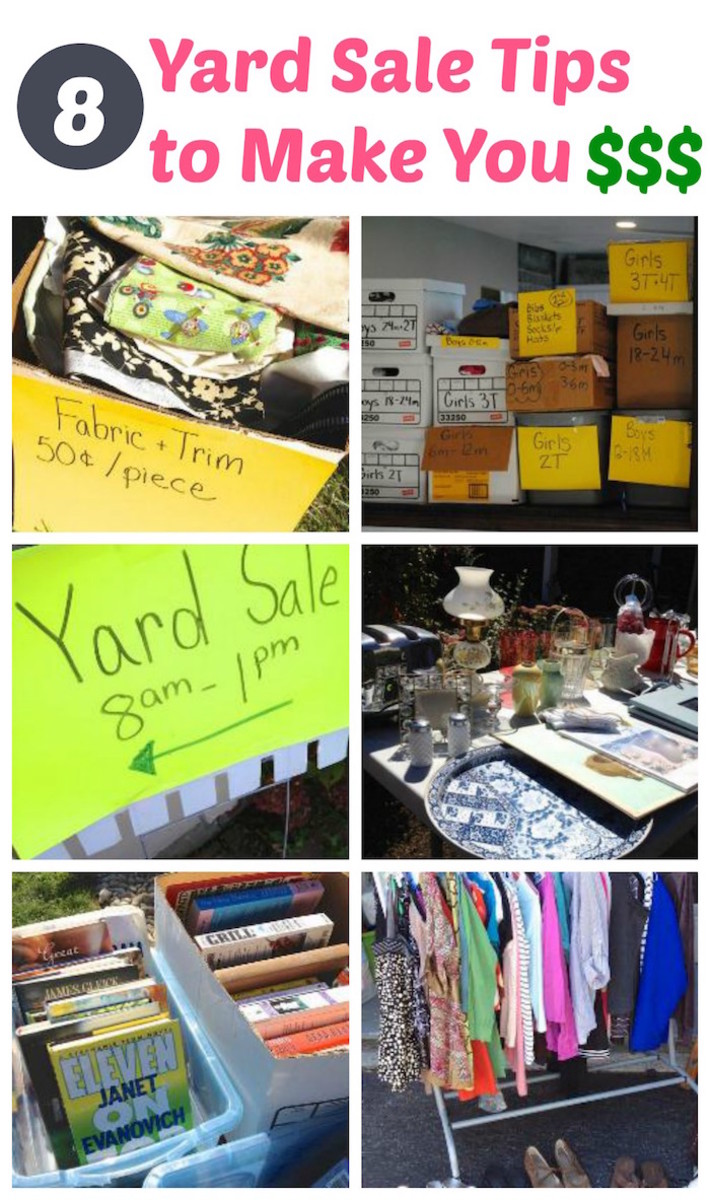 yard sale tips to make you money