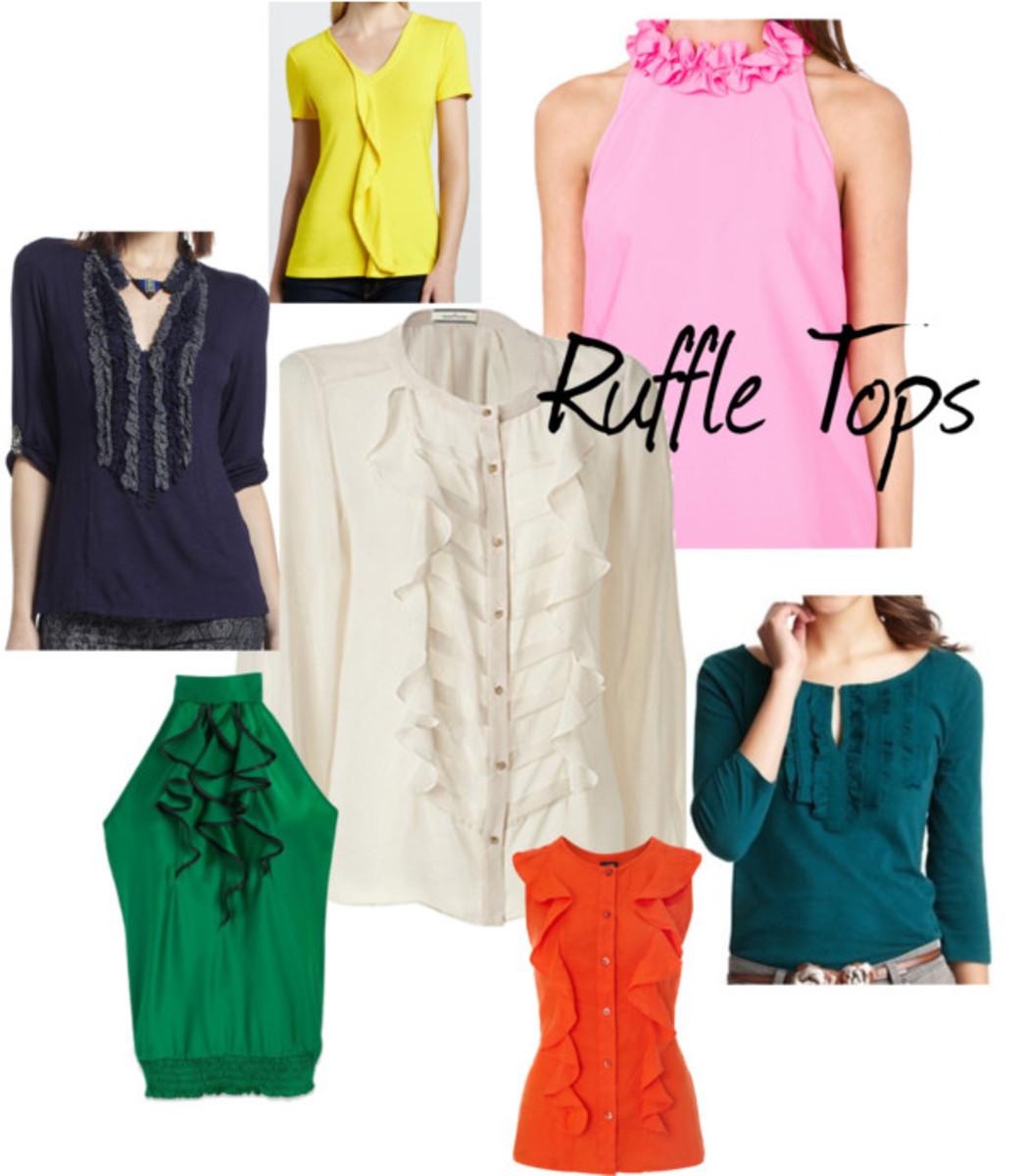 ruffle tops