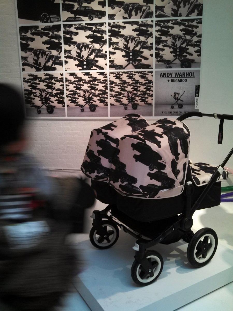 Andy Warhol x Bugaboo cars