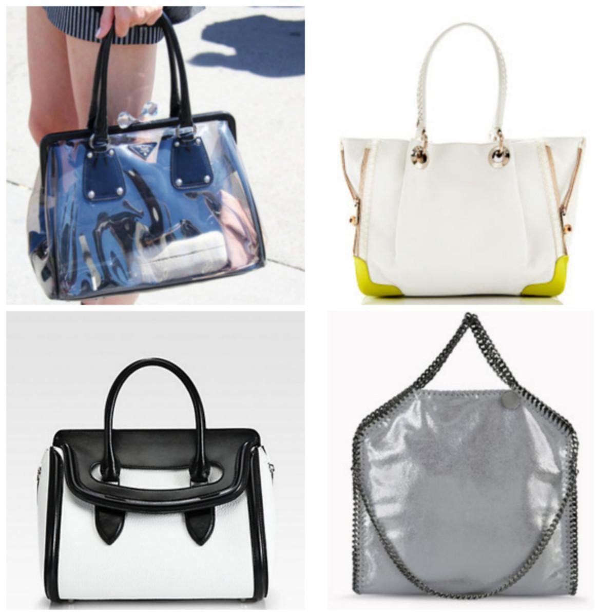 Trendy spring bags