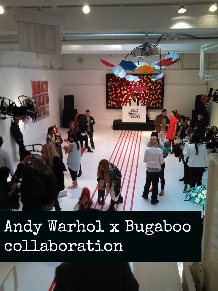 Andy Warhol x Bugaboo collaboration