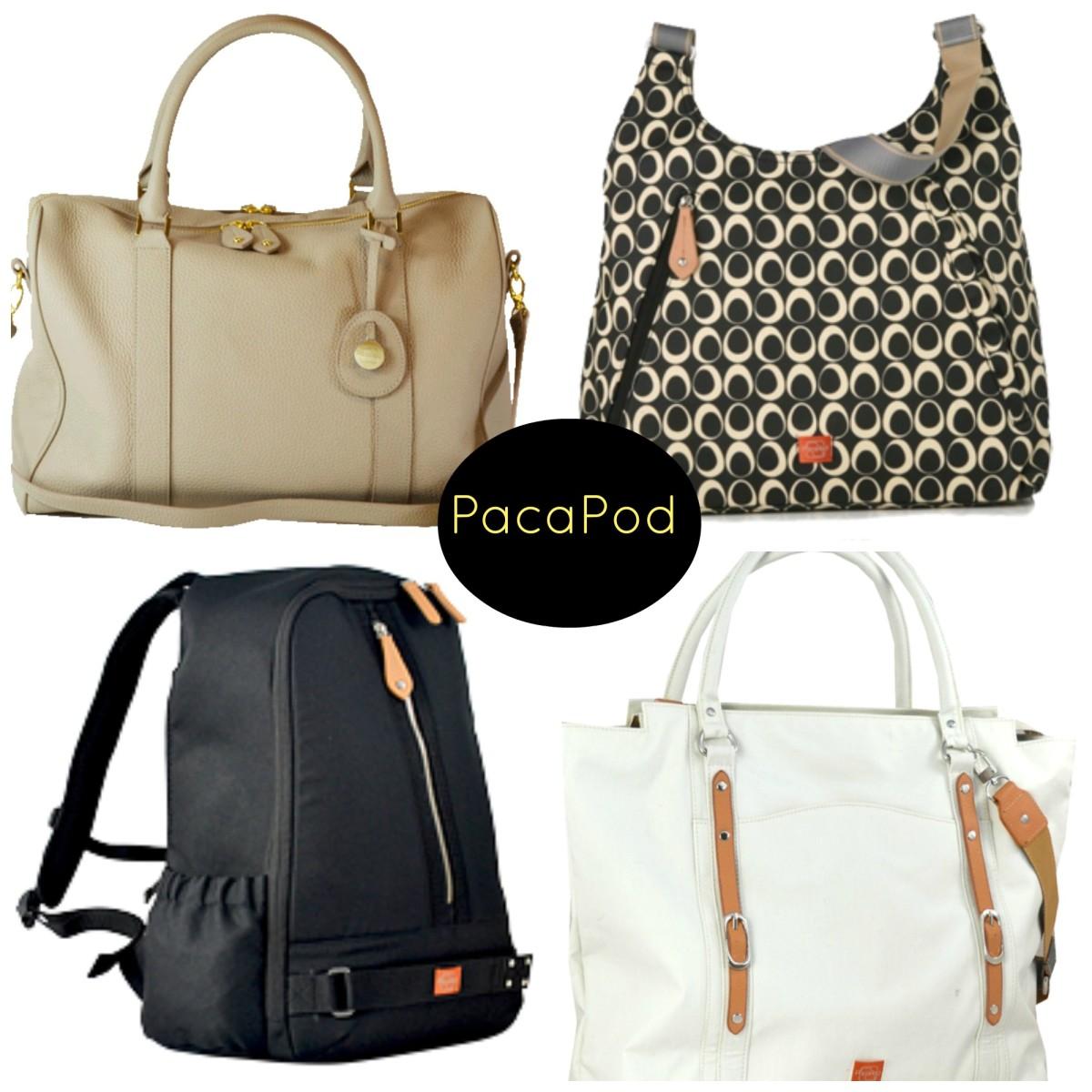 Pacapod Diaper Bags