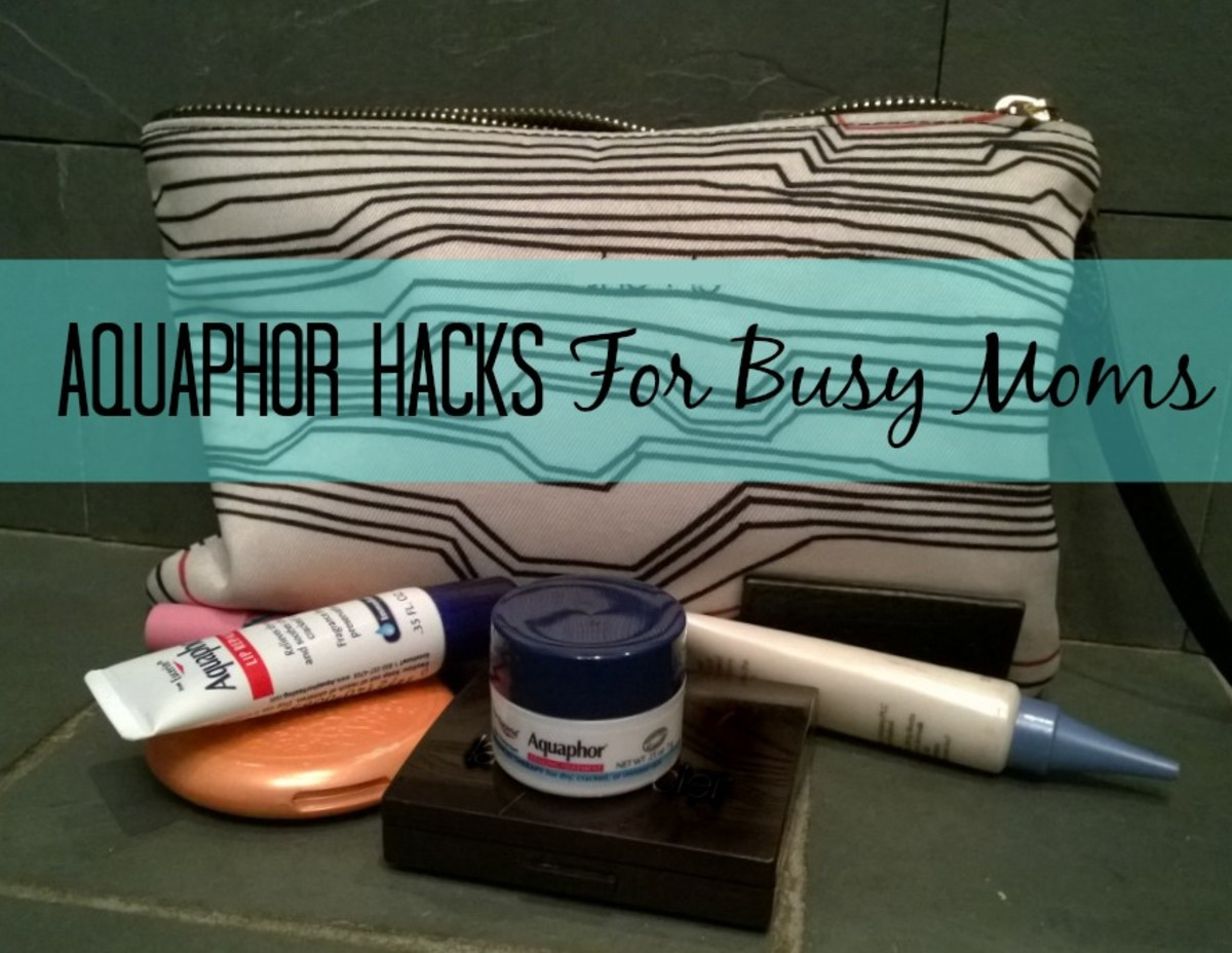 aquaphor hacks for busy moms