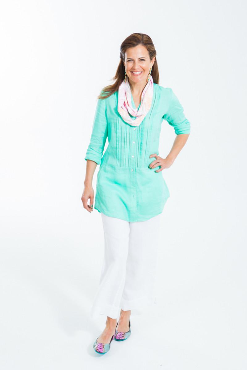 JJill linen outfit