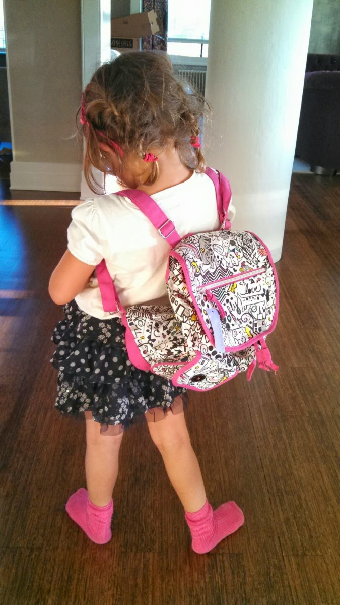 Kindergarten Girl Backpacks - Crazy Backpacks