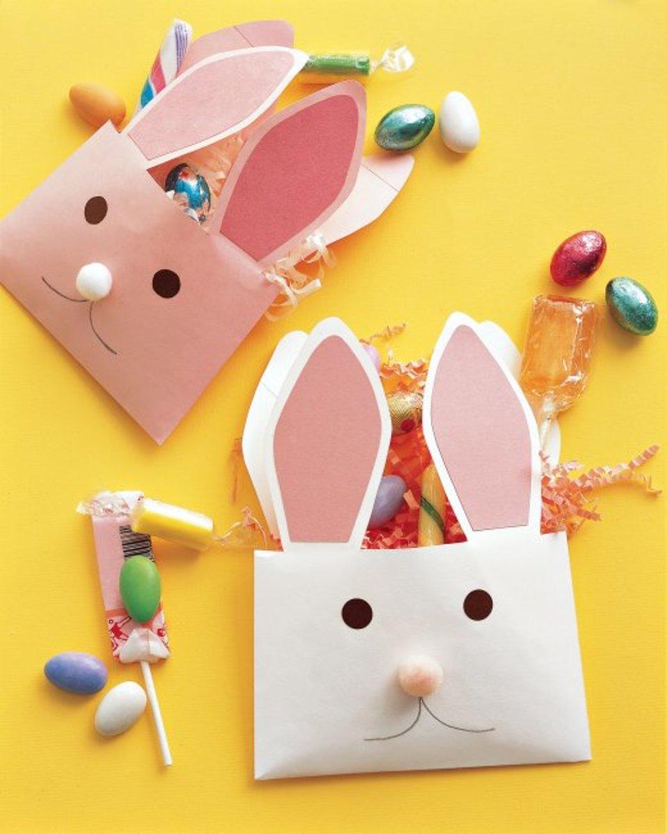 bunny envelop from Martha Stewart