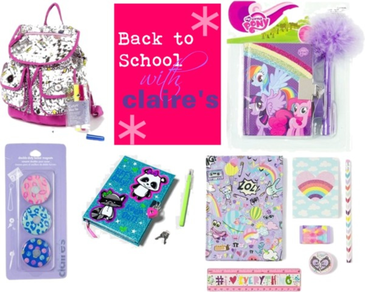 Diy locker decorations - Back To School Starts Pretty With Claire S