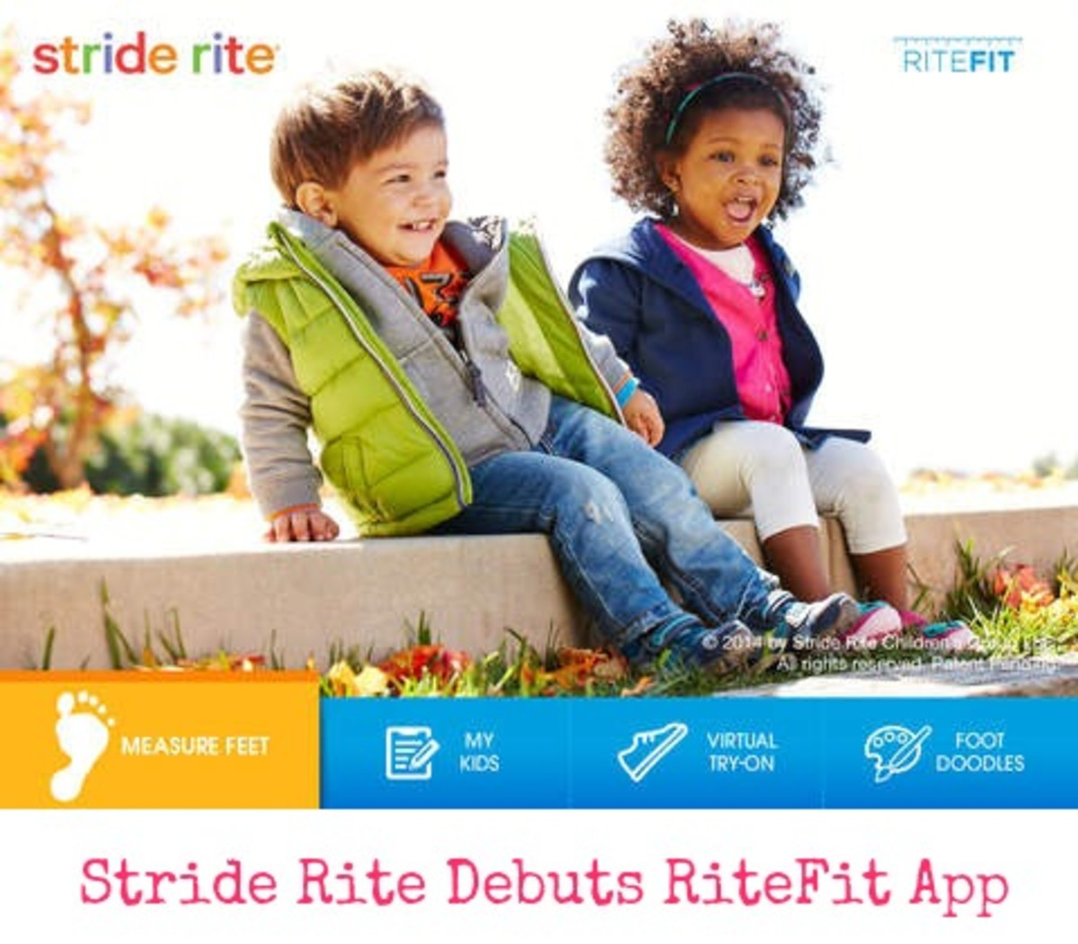 Stride Rite Debuts First Ever RiteFit App