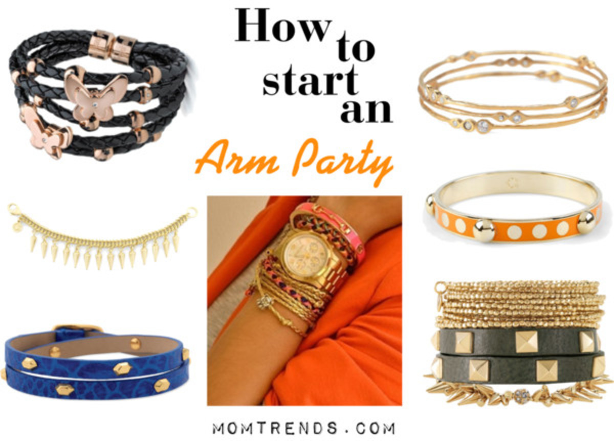 how to create an arm party