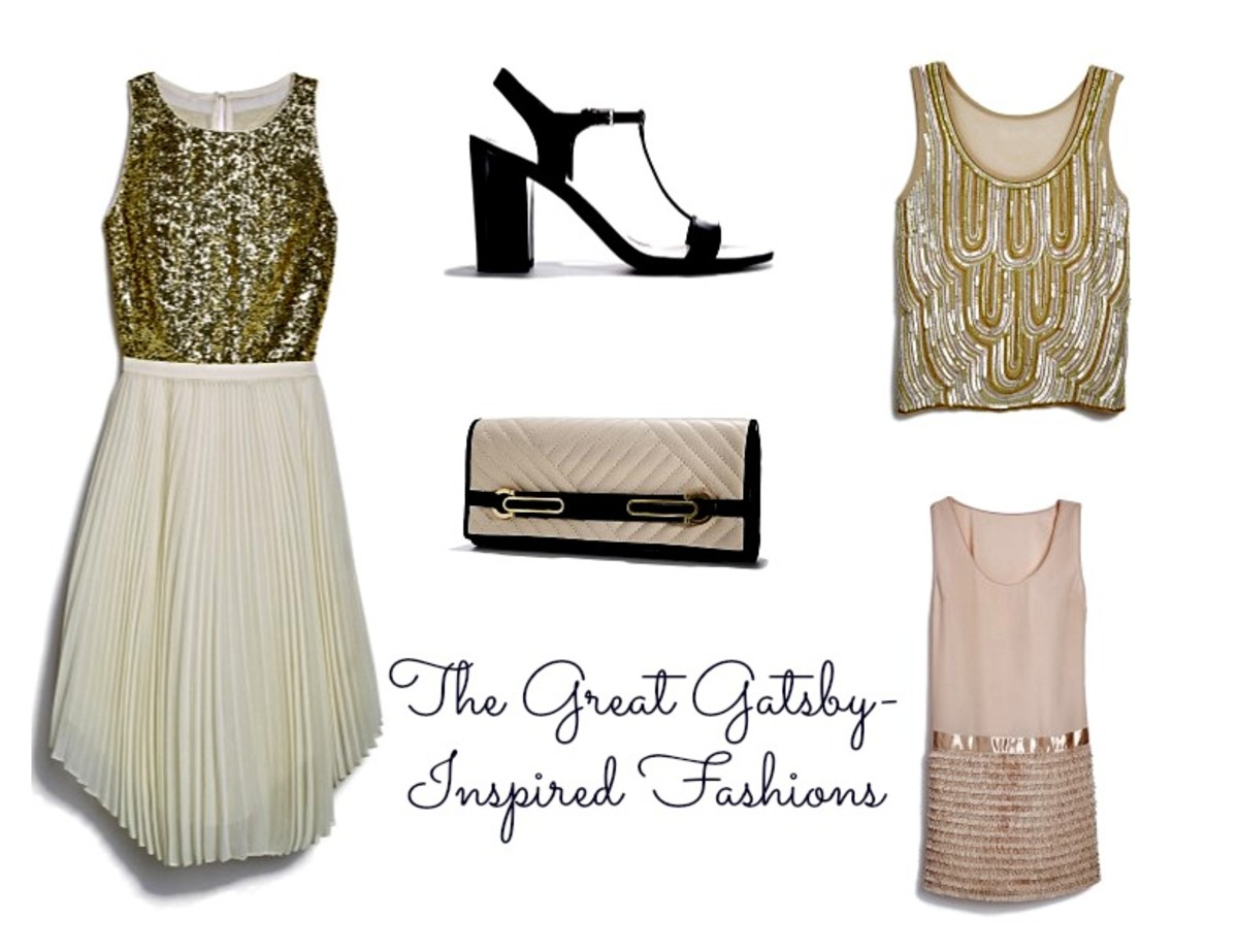 The Great Gatsby Fashions