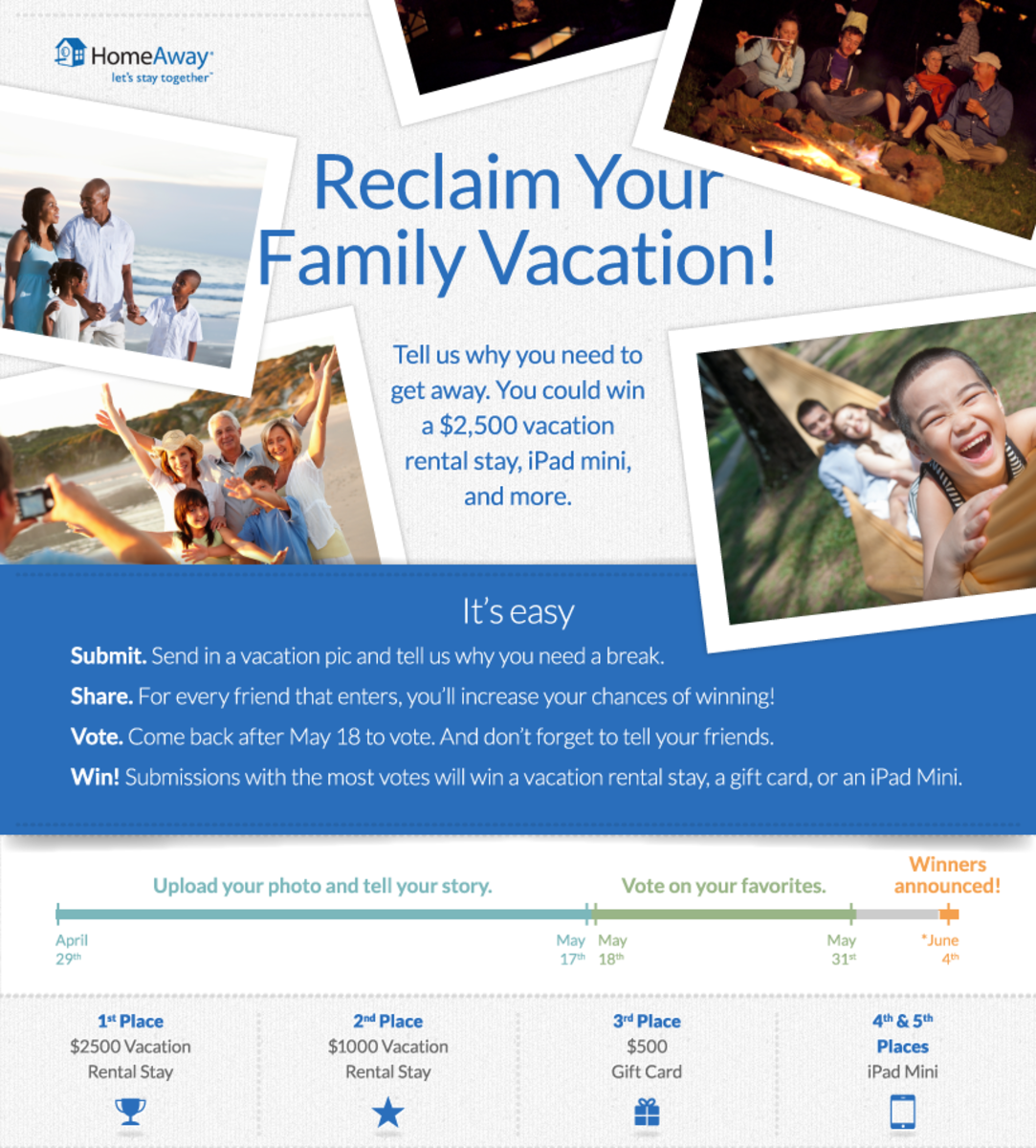 homeaway reclaim your vacation