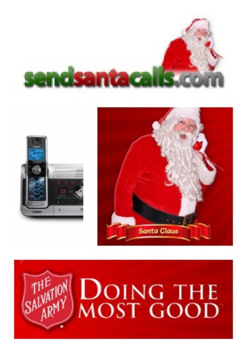 send santa calls
