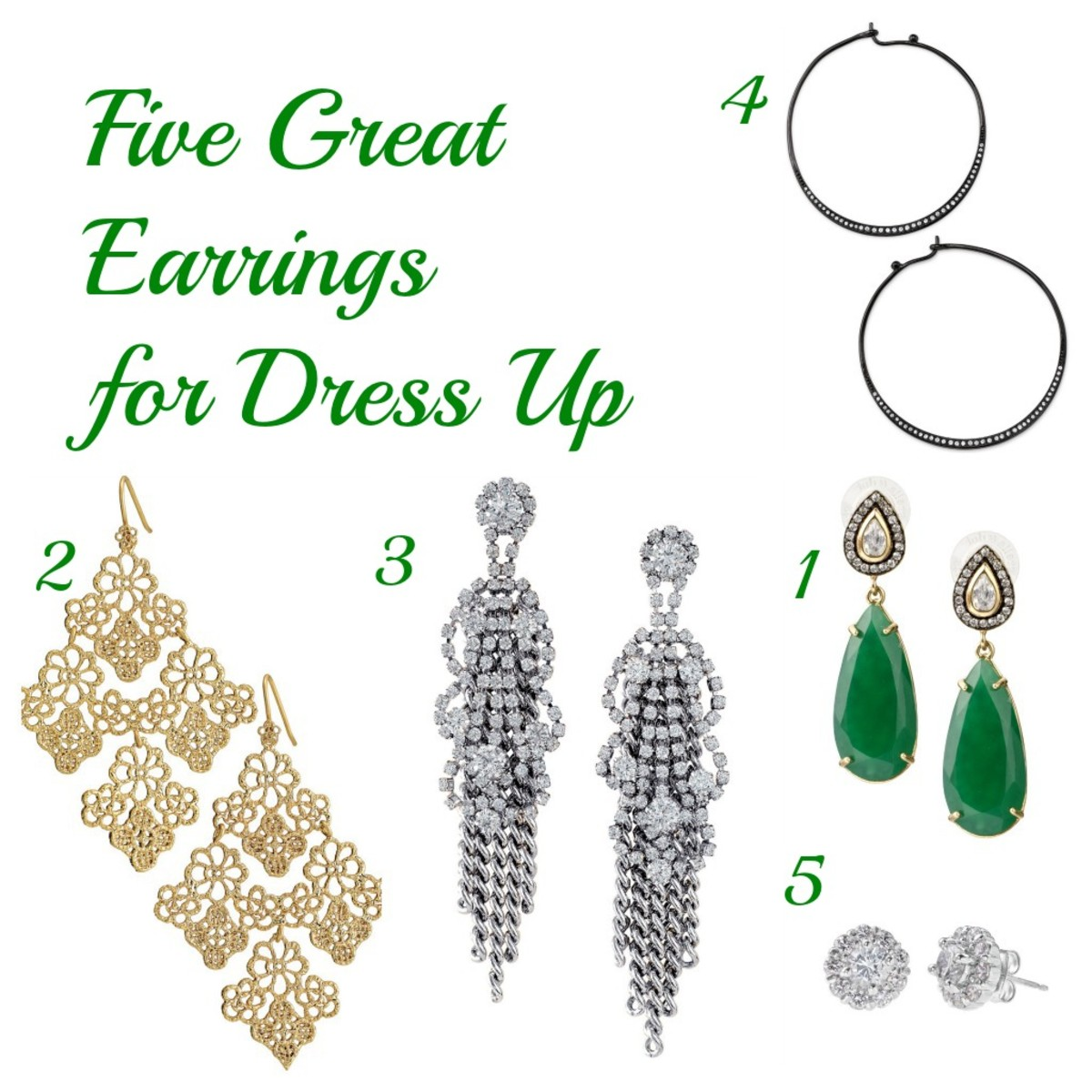 five great earrings