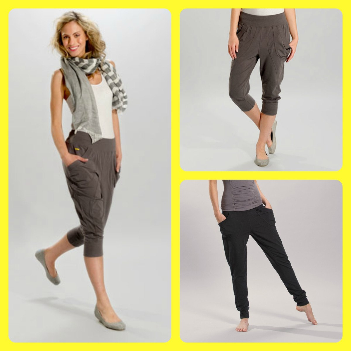 Go long or short in these versatile Yoga pants that work everywhere!!