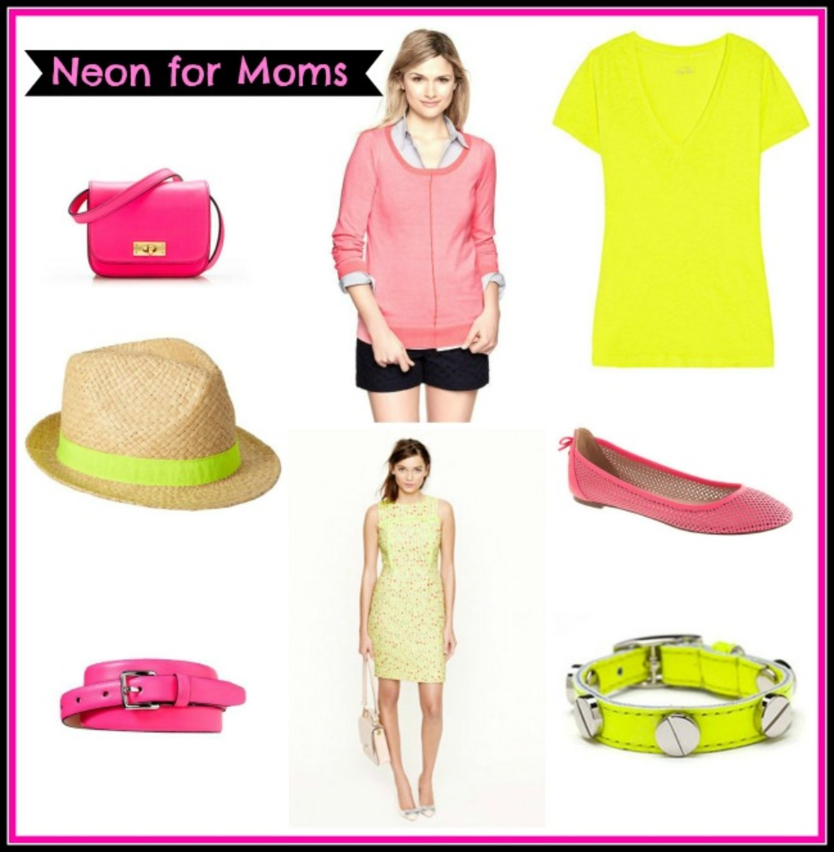 neon, neon for moms, spring 2013 fashion trends