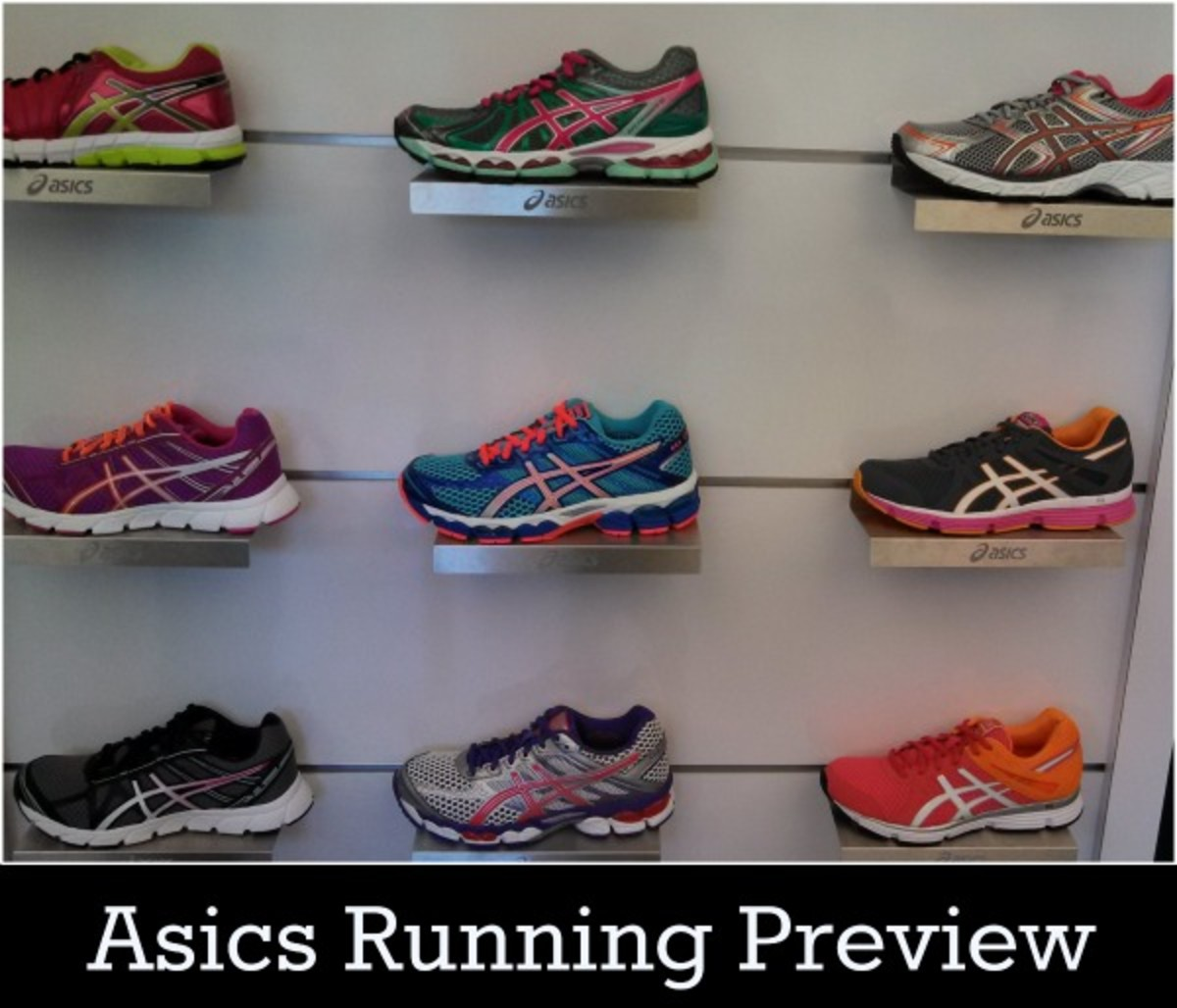 asics running preview