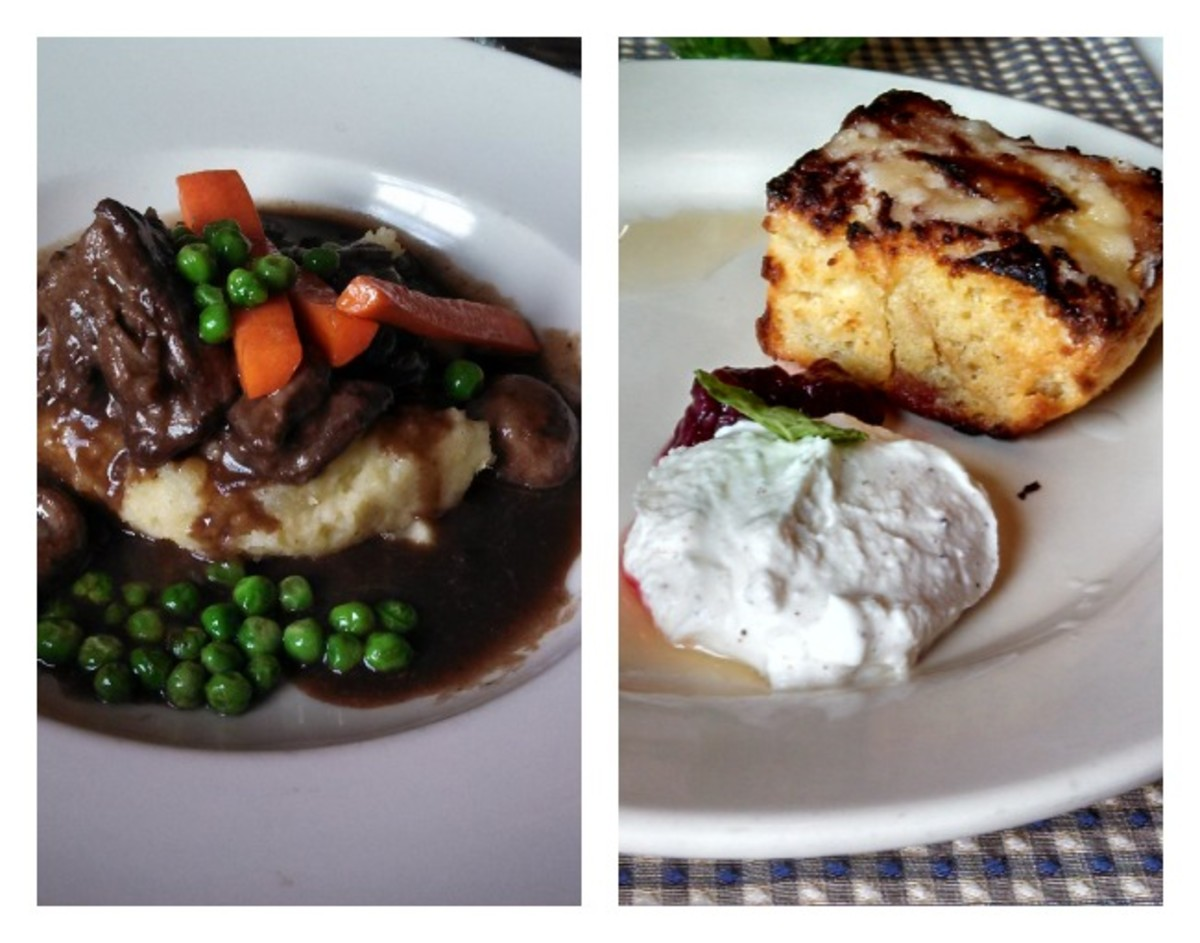 lunch at Uley's