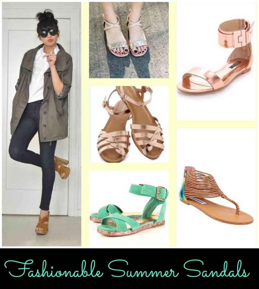 Fashionable Summer Sandals