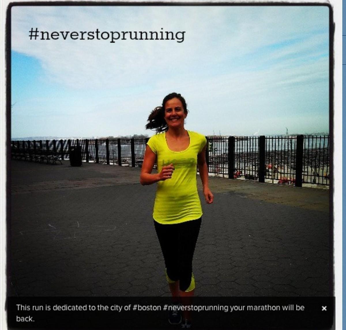 #neverstoprunning