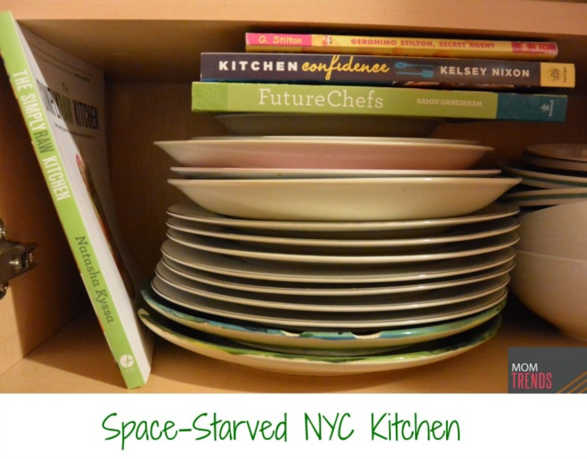 Space-Starved NYC Kitchen