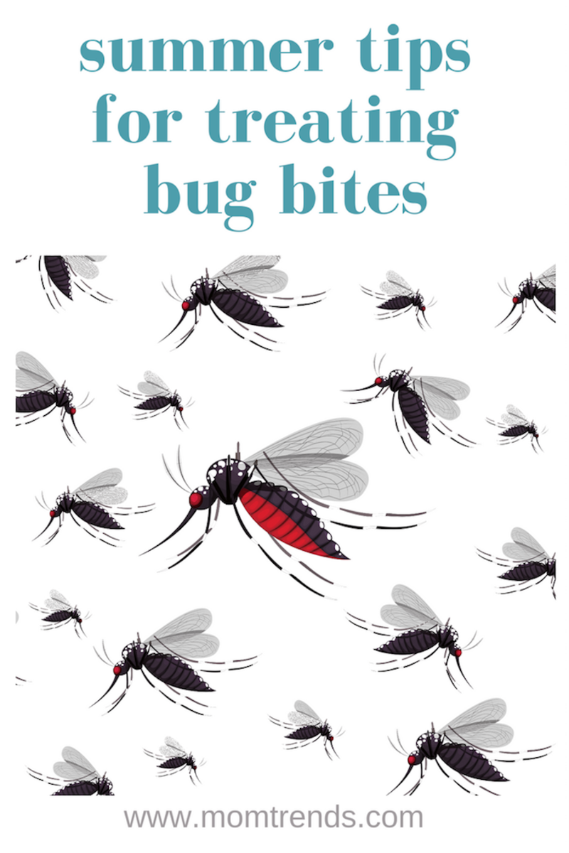 Summer Bug Bite Tips, family healthy tips on how to prevent bites and treat bites