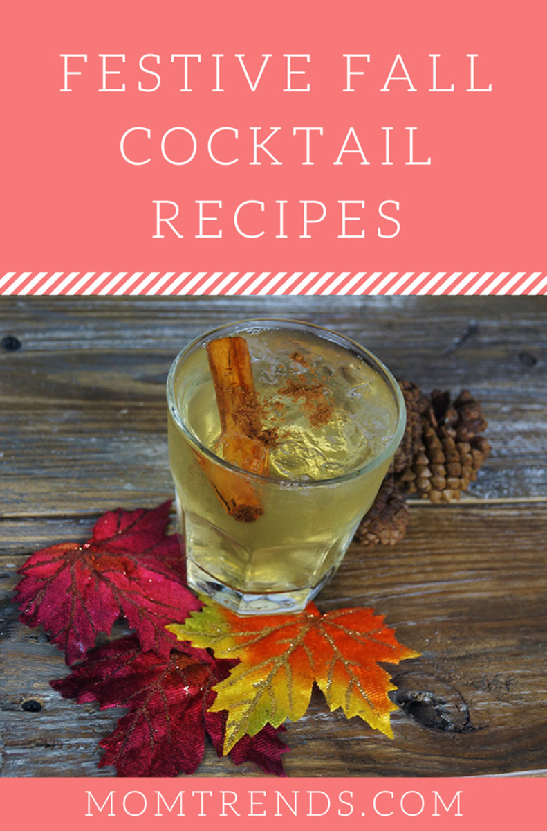 Festive fall cocktail recipes to help you celebrate autumn for Fall cocktail ideas