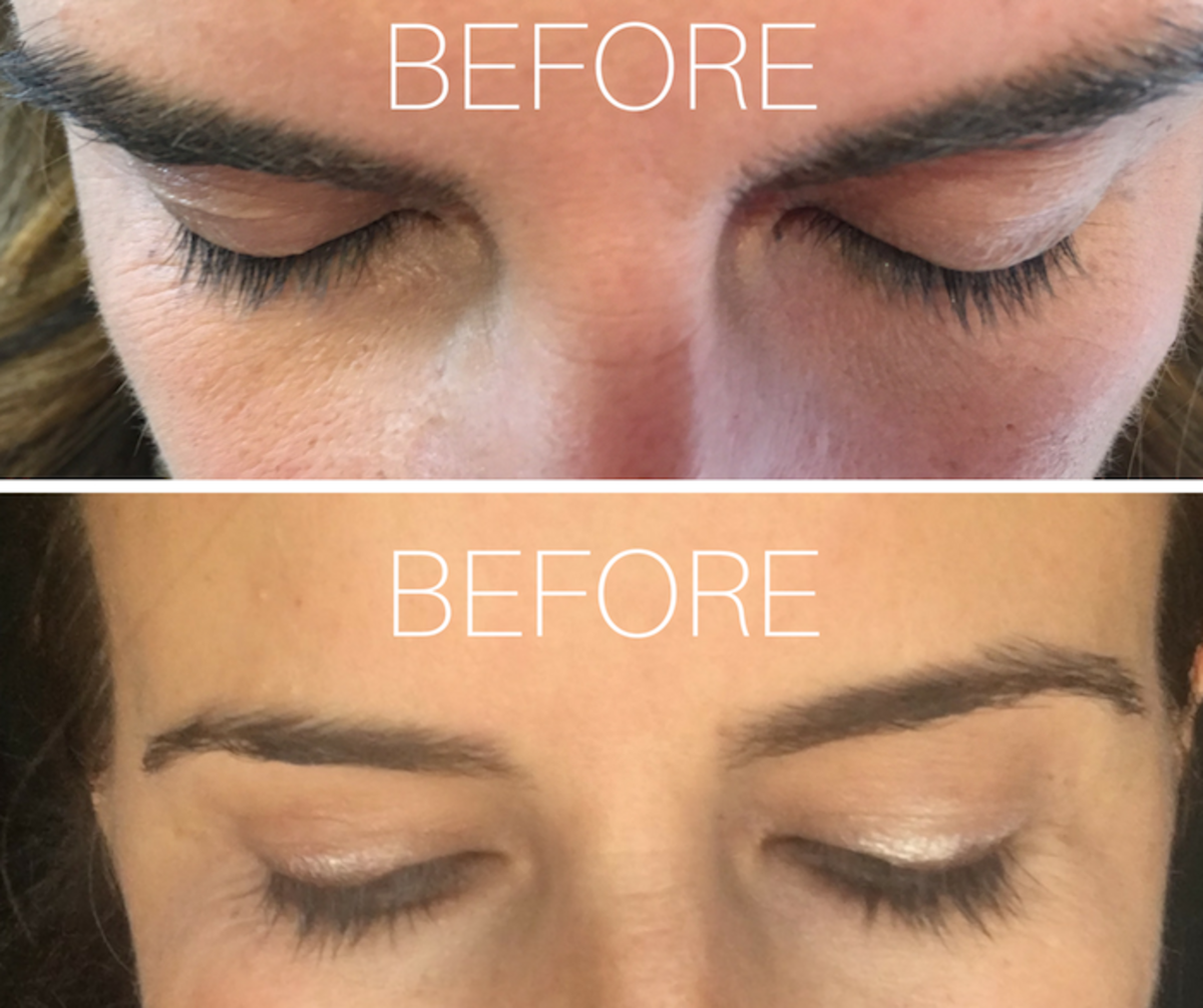 before and after lash boost