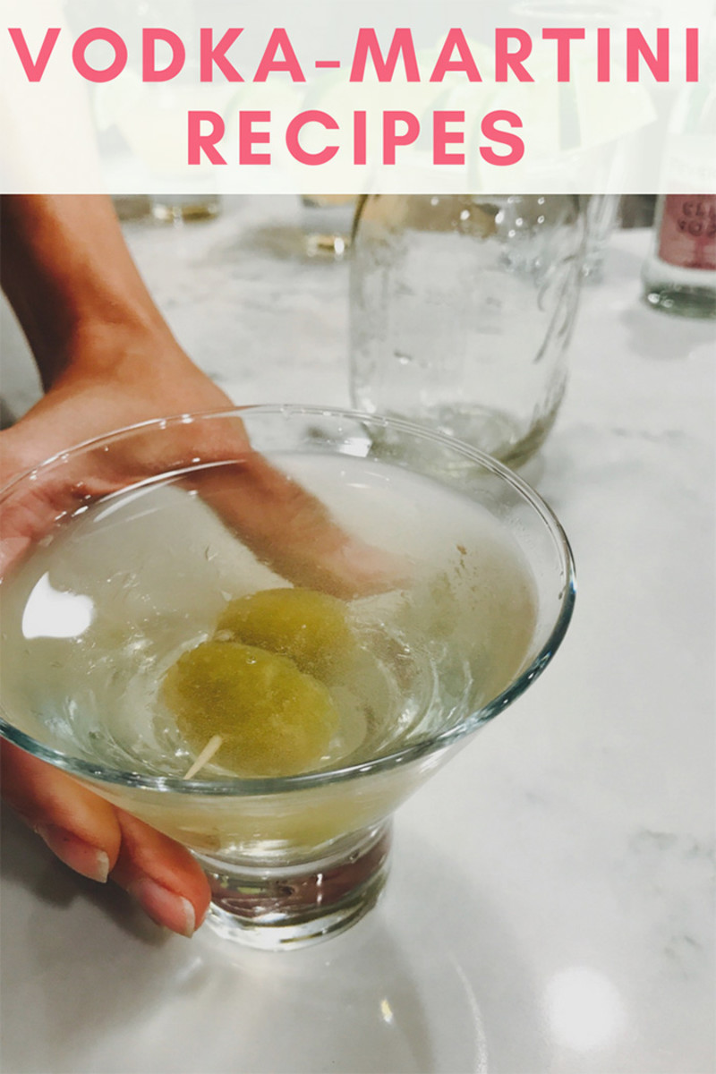 vodka martini recipes