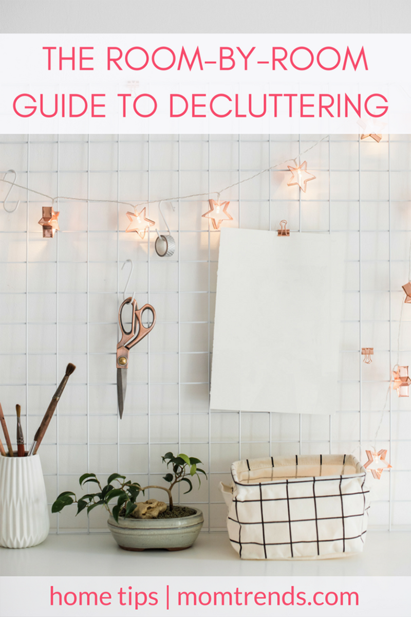 The Room-by-Room Guide to Decluttering