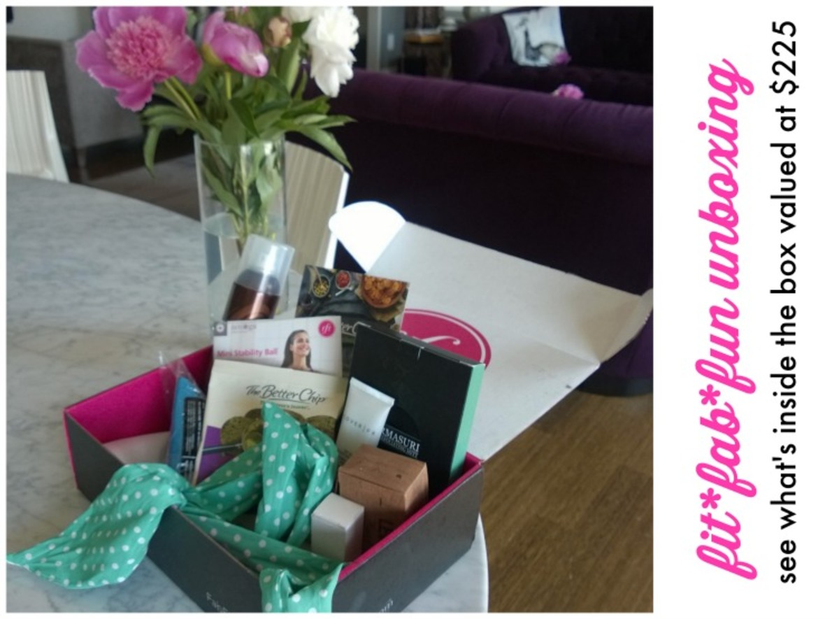FitFabFun subscription box