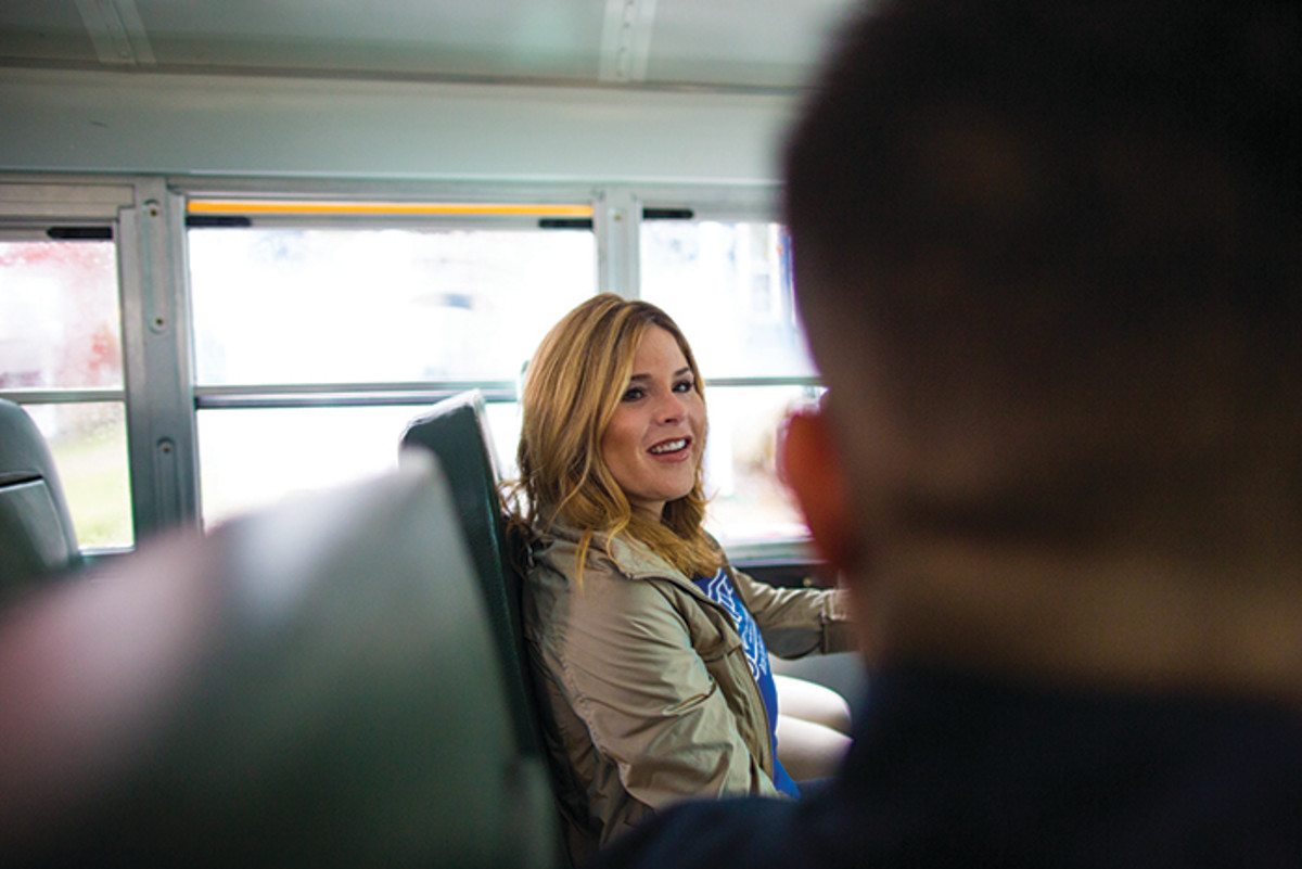 jenna hager on bus