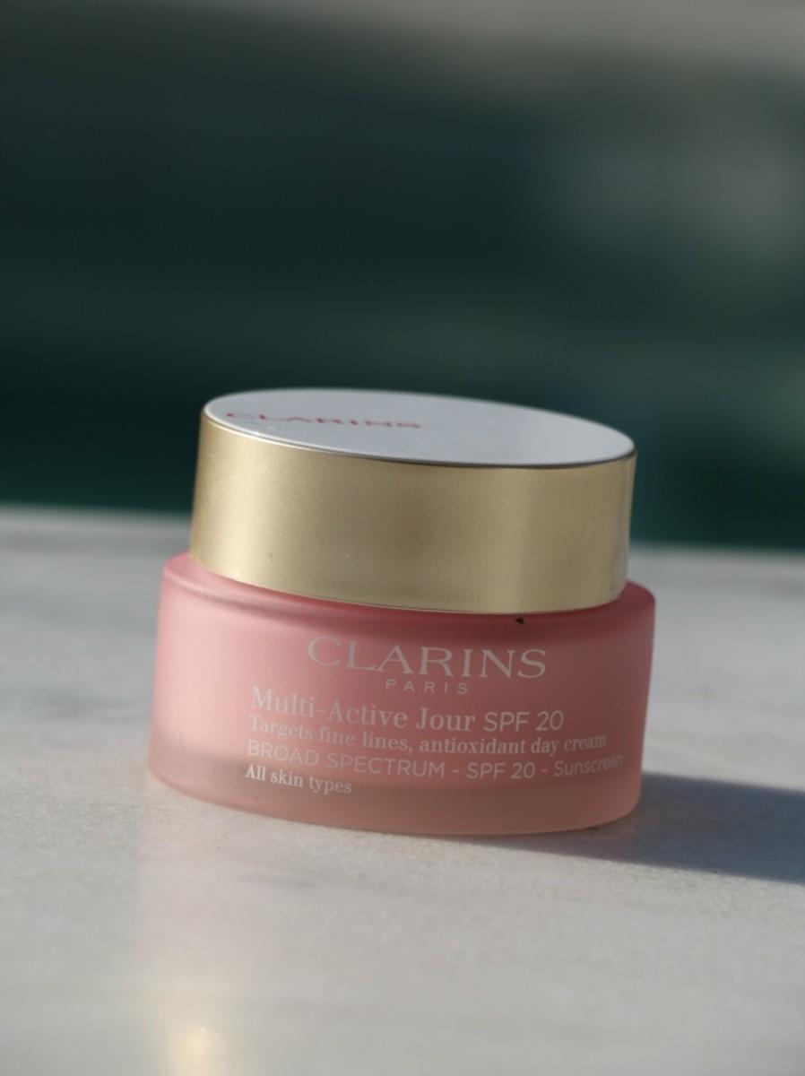 clarins sunscreen