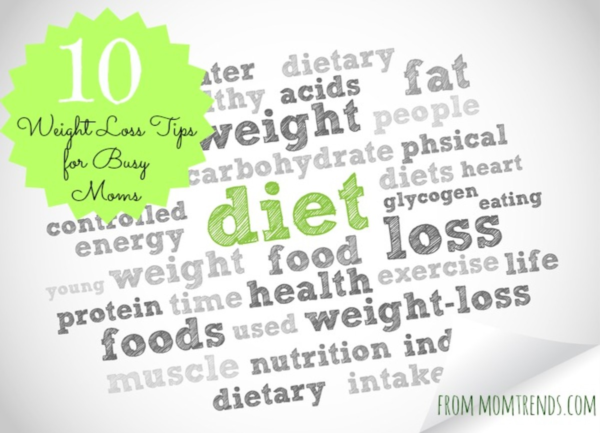 10 diet tips for moms