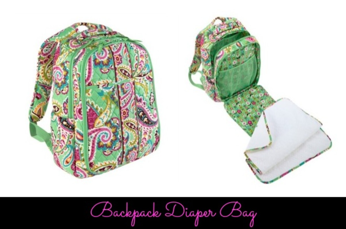 designer backpack diaper bag s1r8  want to organized but not too fussy, this spacious, comfortable and  ergonomically correct backpack from Vera Bradley is the diaper bag for you