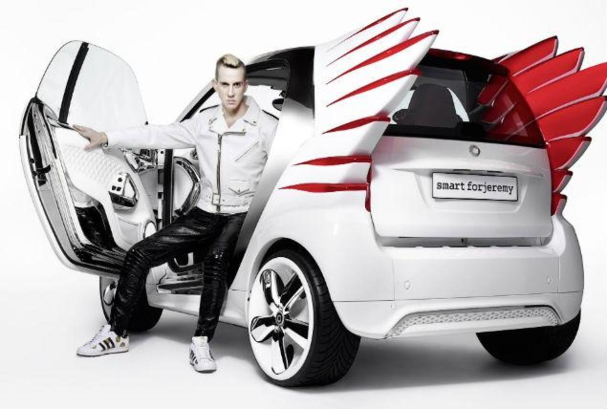 jeremy scott smart car