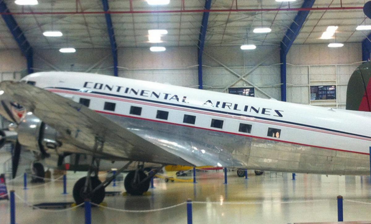 Planes in Galveston