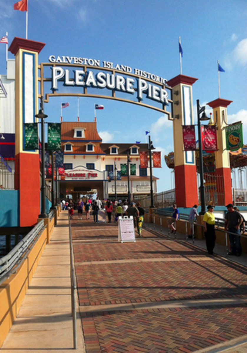 Pleasure Pier - Galveston