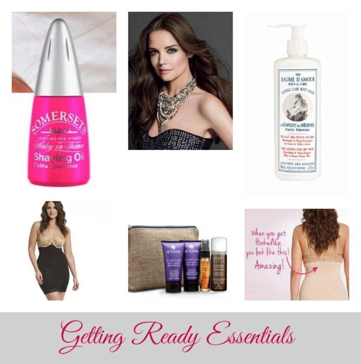 Getting Ready Essentials, Katie Holmes