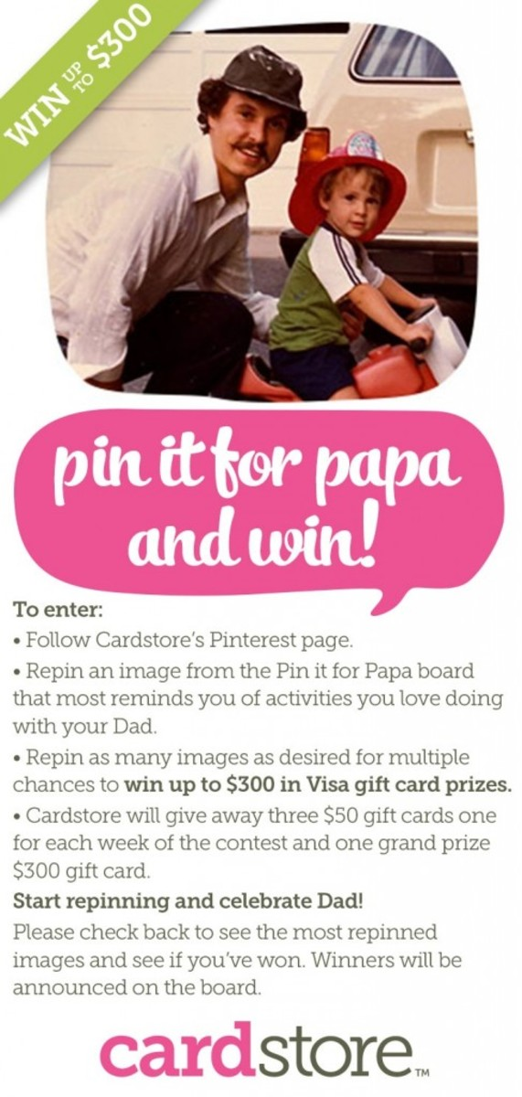 Pin it for Papa