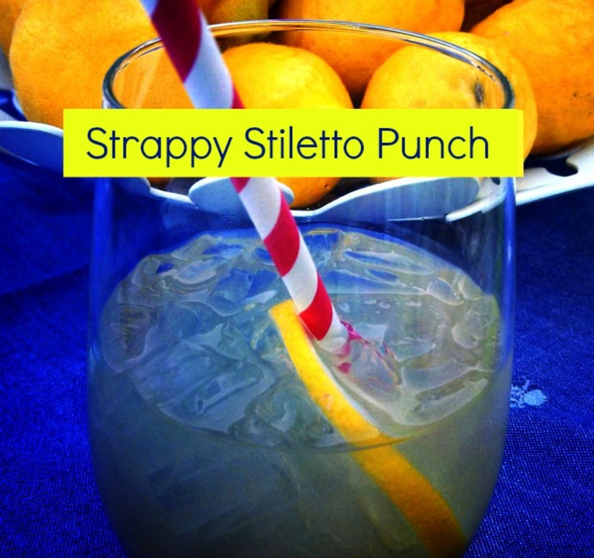 strappy stiletto punch
