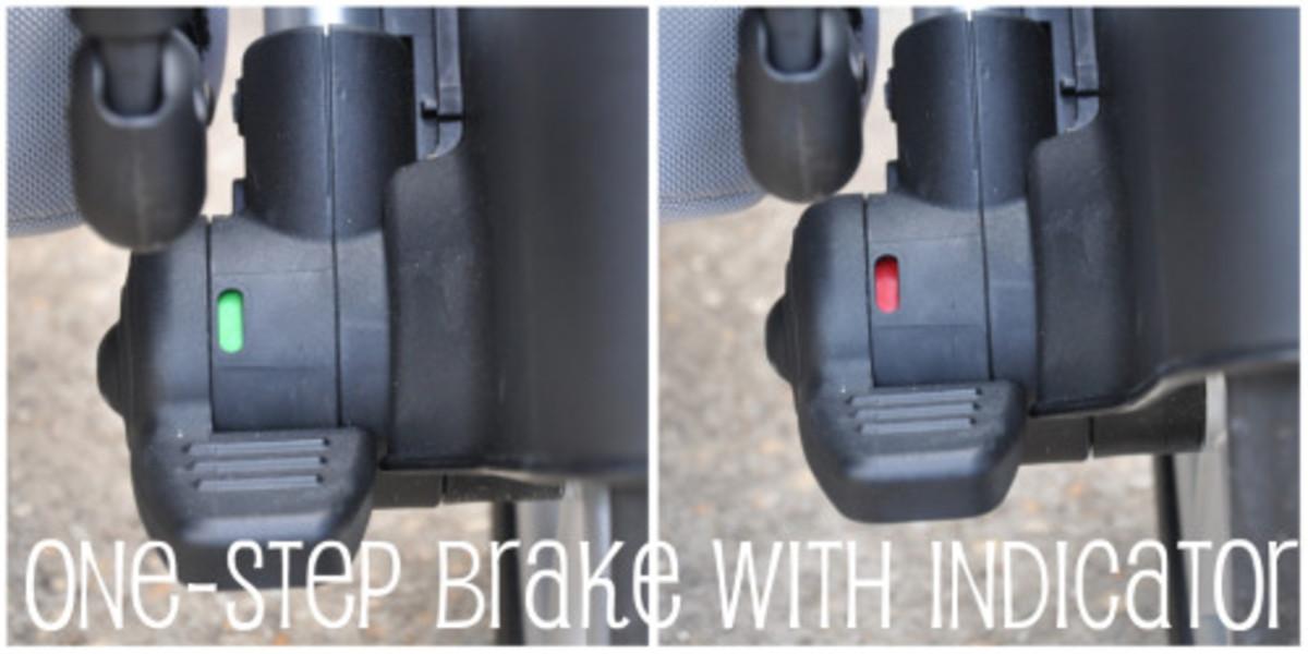 britax b-ready stroller brake