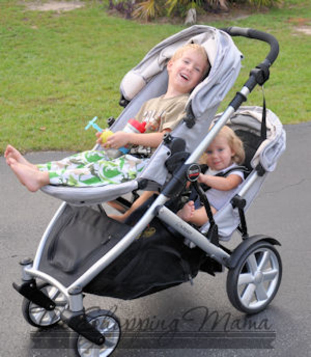 britax b-ready with second seat review