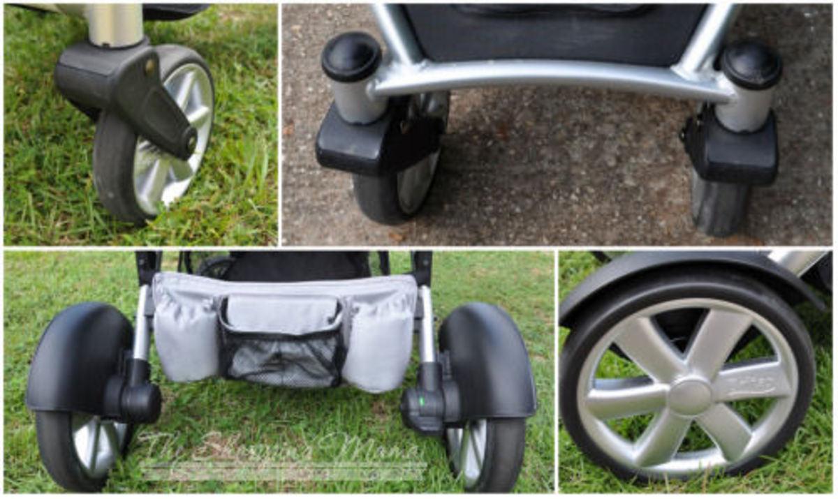 britax b-ready stroller wheels