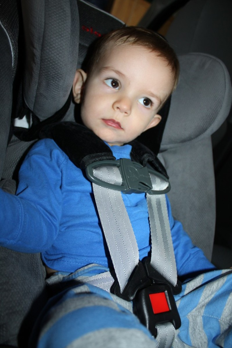 The Five Point Harness can be easily adjusted to perfectly fit your child.