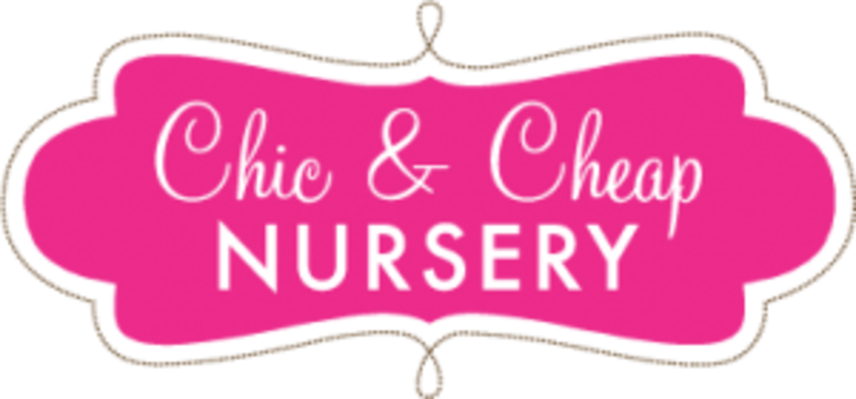chic and cheap nursery logo
