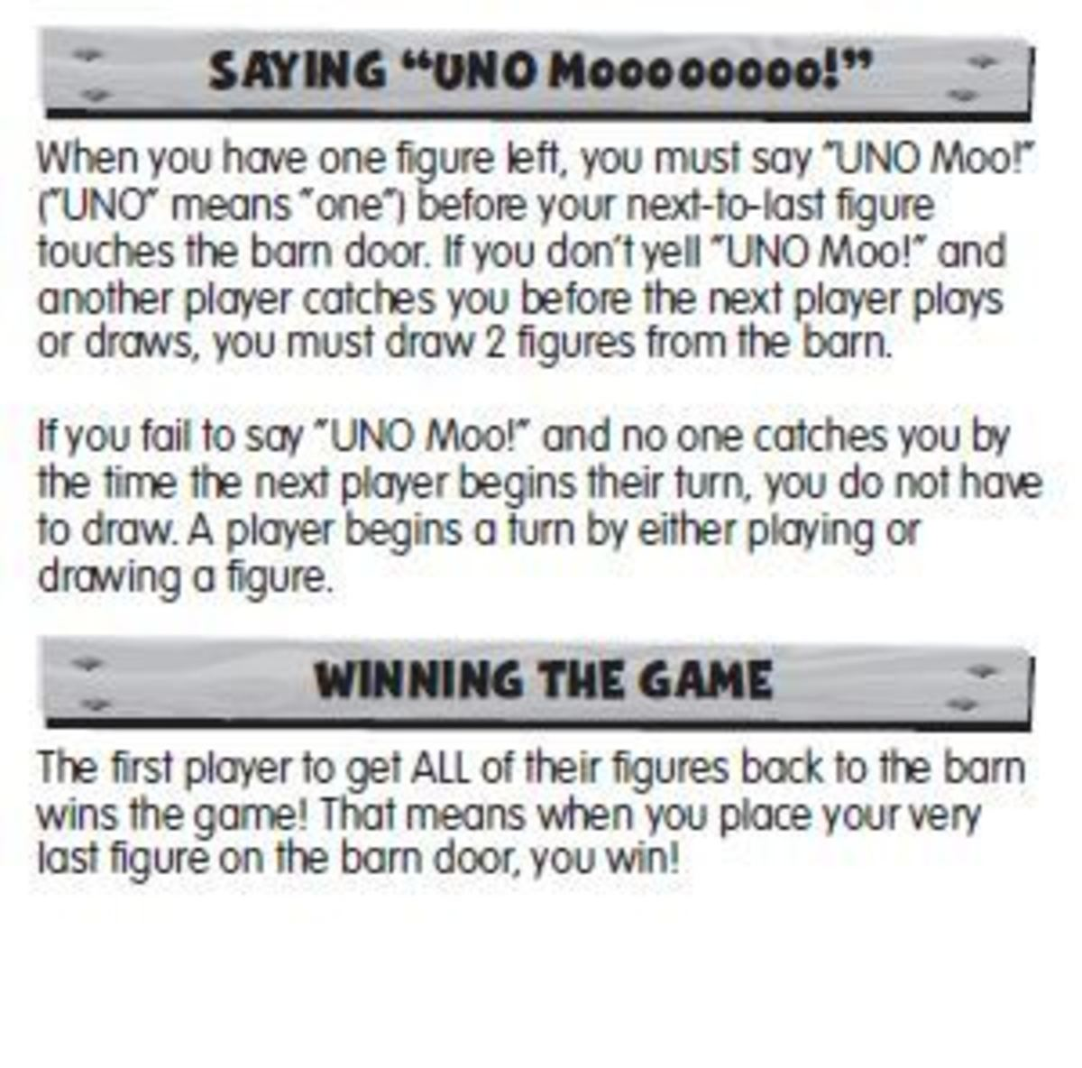UNO Moo How to Win