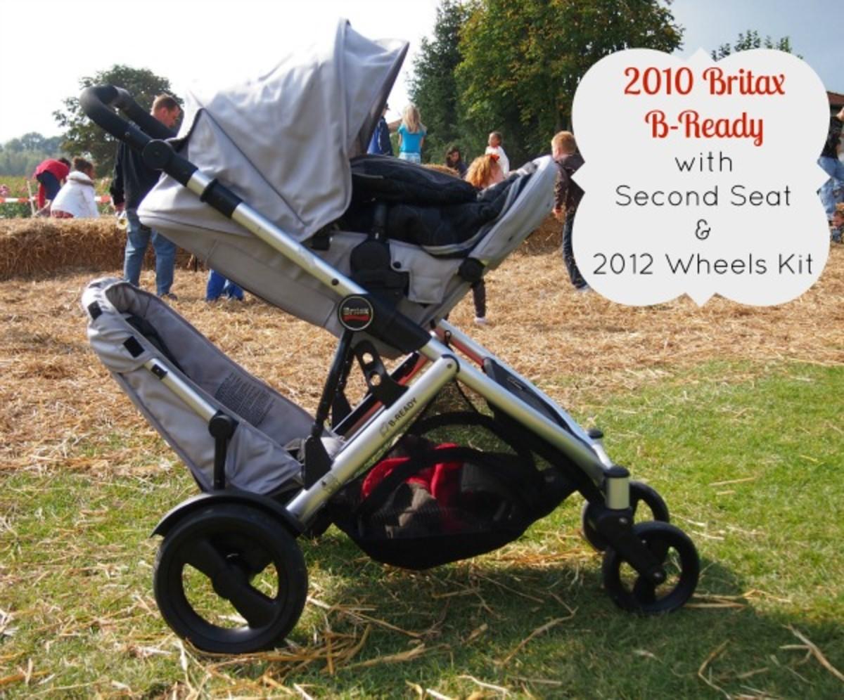 britax bready with 2012 wheels kit