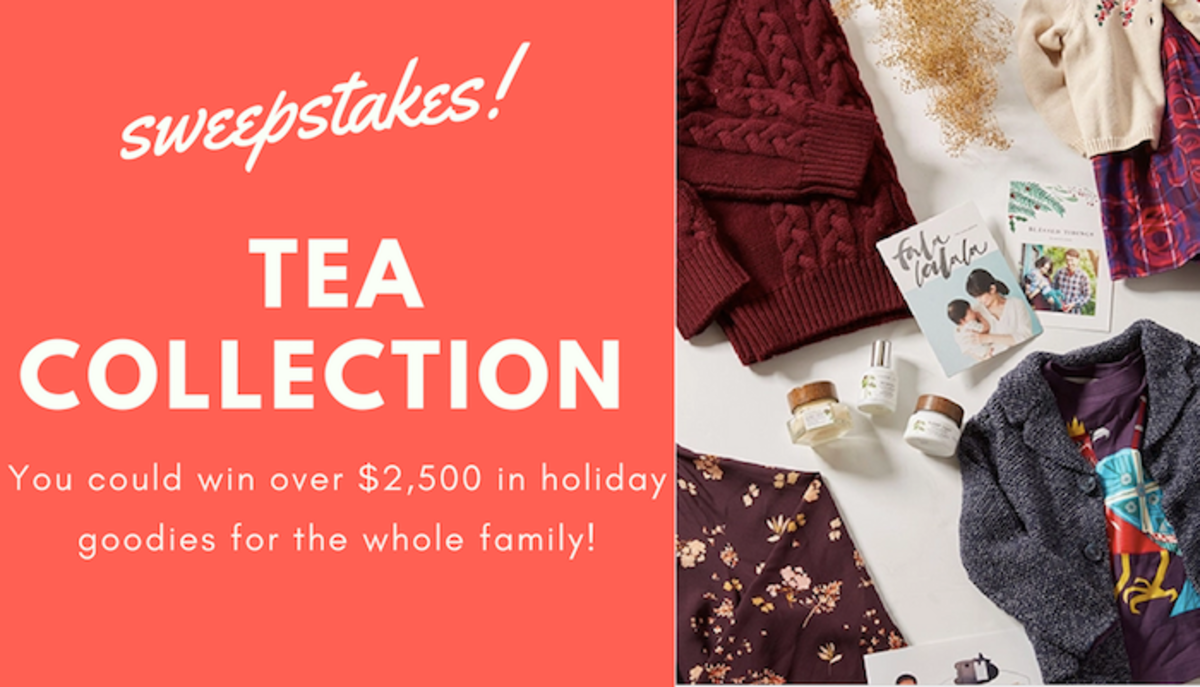 Tea Collection Holiday Sweepstakes
